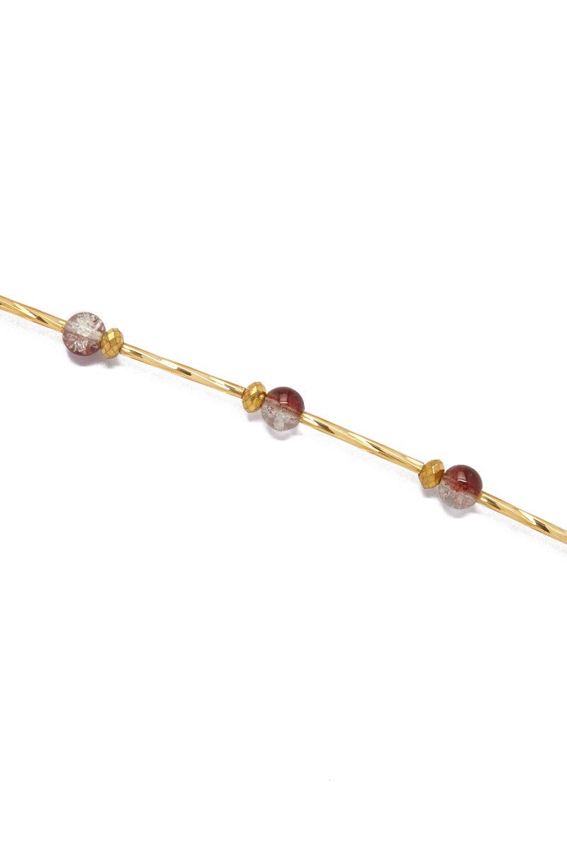 TEGAA Ndey Waistbeads Jewelry | Brown Cloud| Tegaa Ndey Waistbeads
