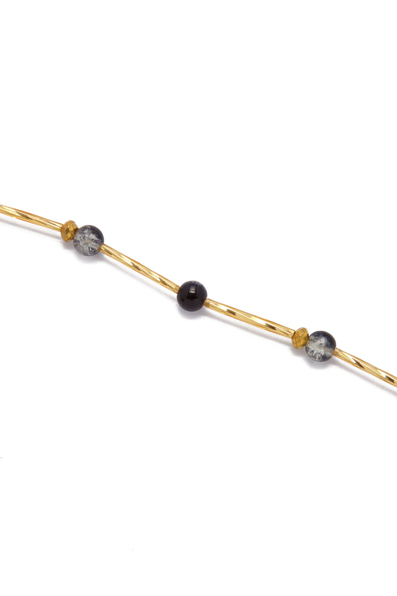 TEGAA Ndey Waistbeads Jewelry | Black Cloud| Tegaa Ndey Waistbeads