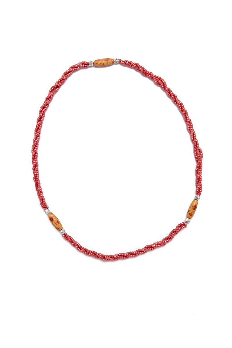 TEGAA Fajara Waistbeads Jewelry | Peach| Tegaa Fajara Waistbeads