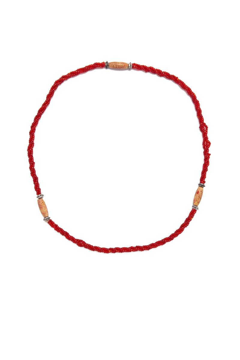 TEGAA Fajara Waistbeads Jewelry | Red| Tegaa Fajara Waistbeads