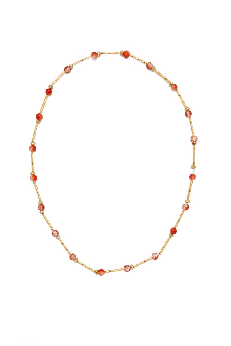 TEGAA Ndey Waistbeads Jewelry | Coral Cloud| Tegaa Ndey Waistbeads