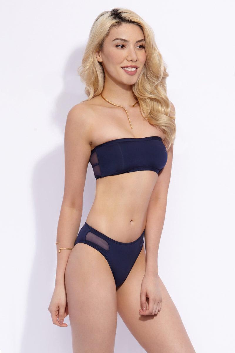 KACEY SHANA St.Barths Top Bikini Top   Navy  Kacey Shana St.Barths Top