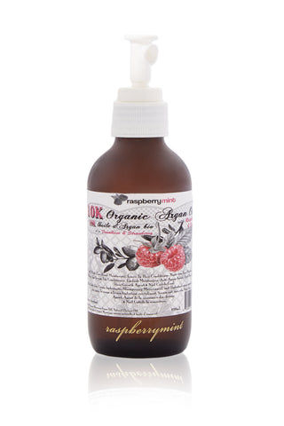 RASPBERRY MINT Raspberry & Strawberry 10K Organic Argan Oil Beauty | Raspberry & Strawberry 10K Organic Argan Oil