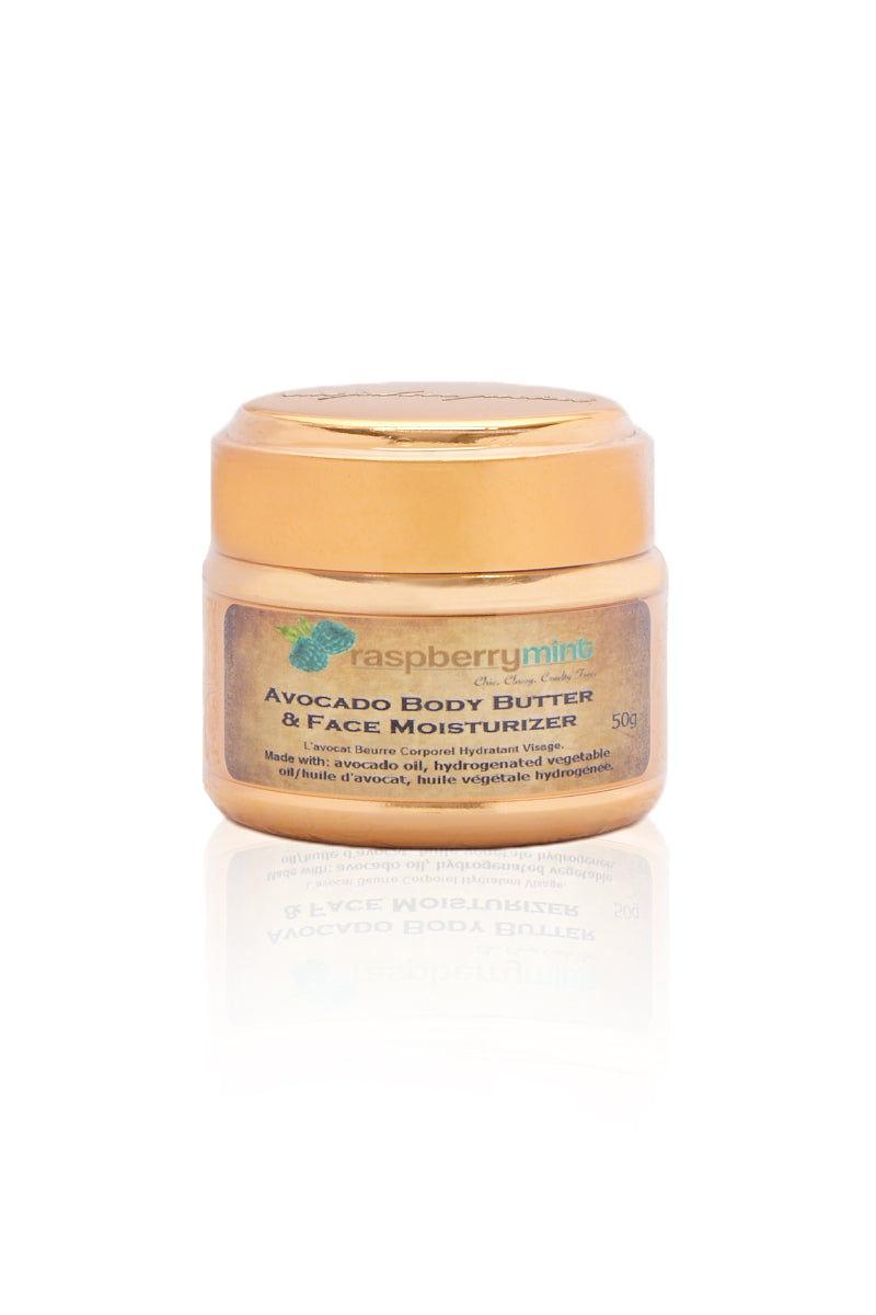 RASPBERRY MINT Avocado Body Butter & Face Moisturizer Beauty | Avocado Body Butter & Face Moisturizer