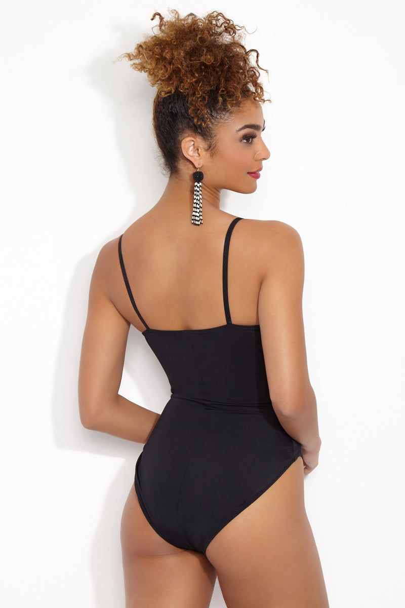 4218e6e80224 ... NORMA KAMALI Underwire Mio One Piece Swimsuit - Black One Piece |  Black| Norma Kamali ...