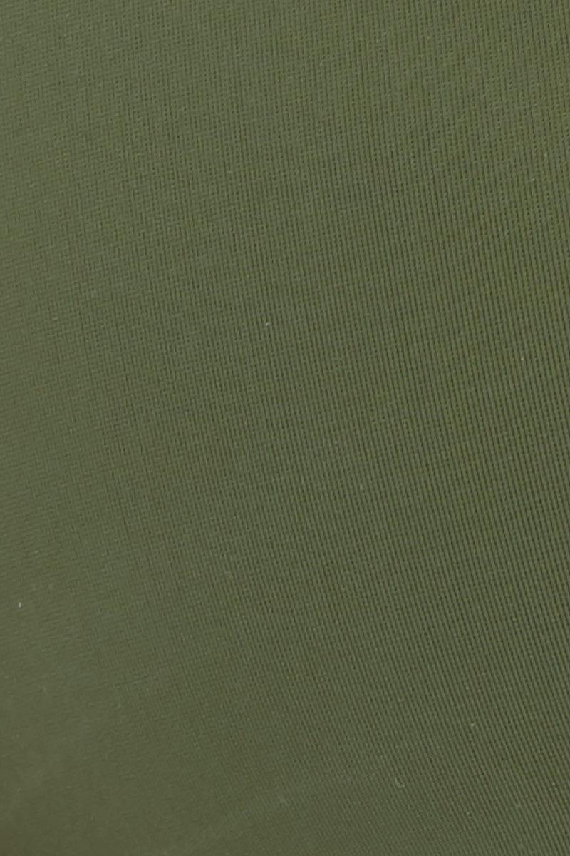 WILDASTER Gigi Slip On Top - Matcha Latte Bikini Top   Lush Pine  Wildaster Gigi Slip On Top - Green Swatch View Slip On Bikini Top Double Shoulder Straps  Non-Adjustable  Seamless Stitching Double Lined  80% Nylon / 20% Spandex
