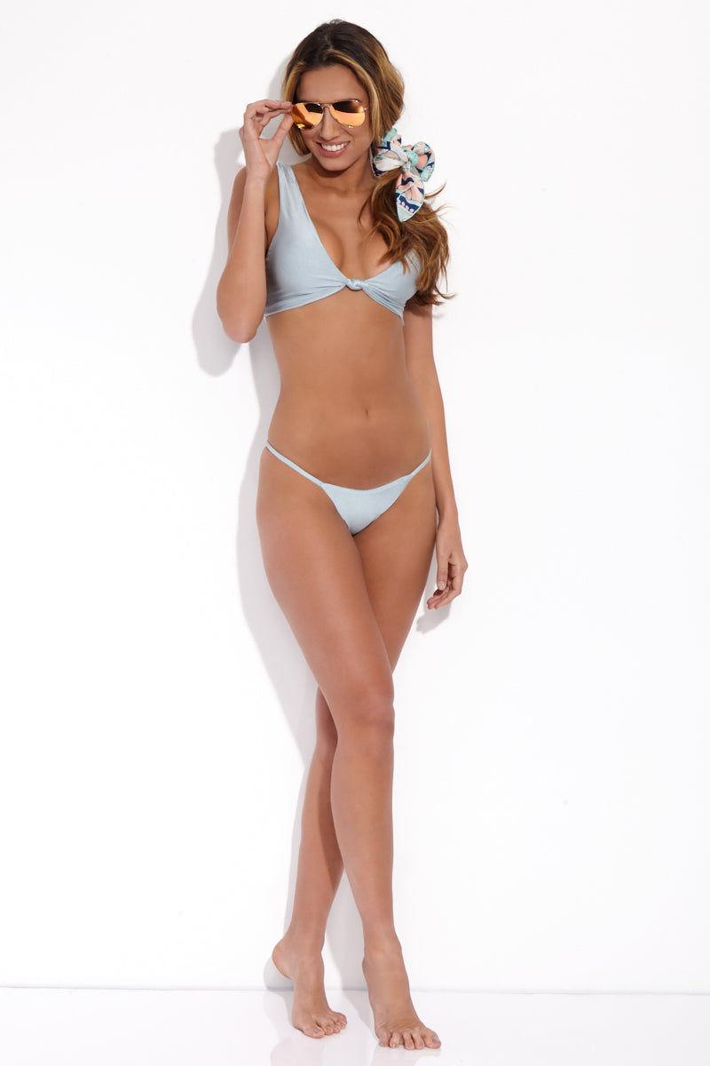 SLATE SWIM Zinc Bottom - Powder Bikini Bottom | Powder| Slate Swim Zinc Bottom