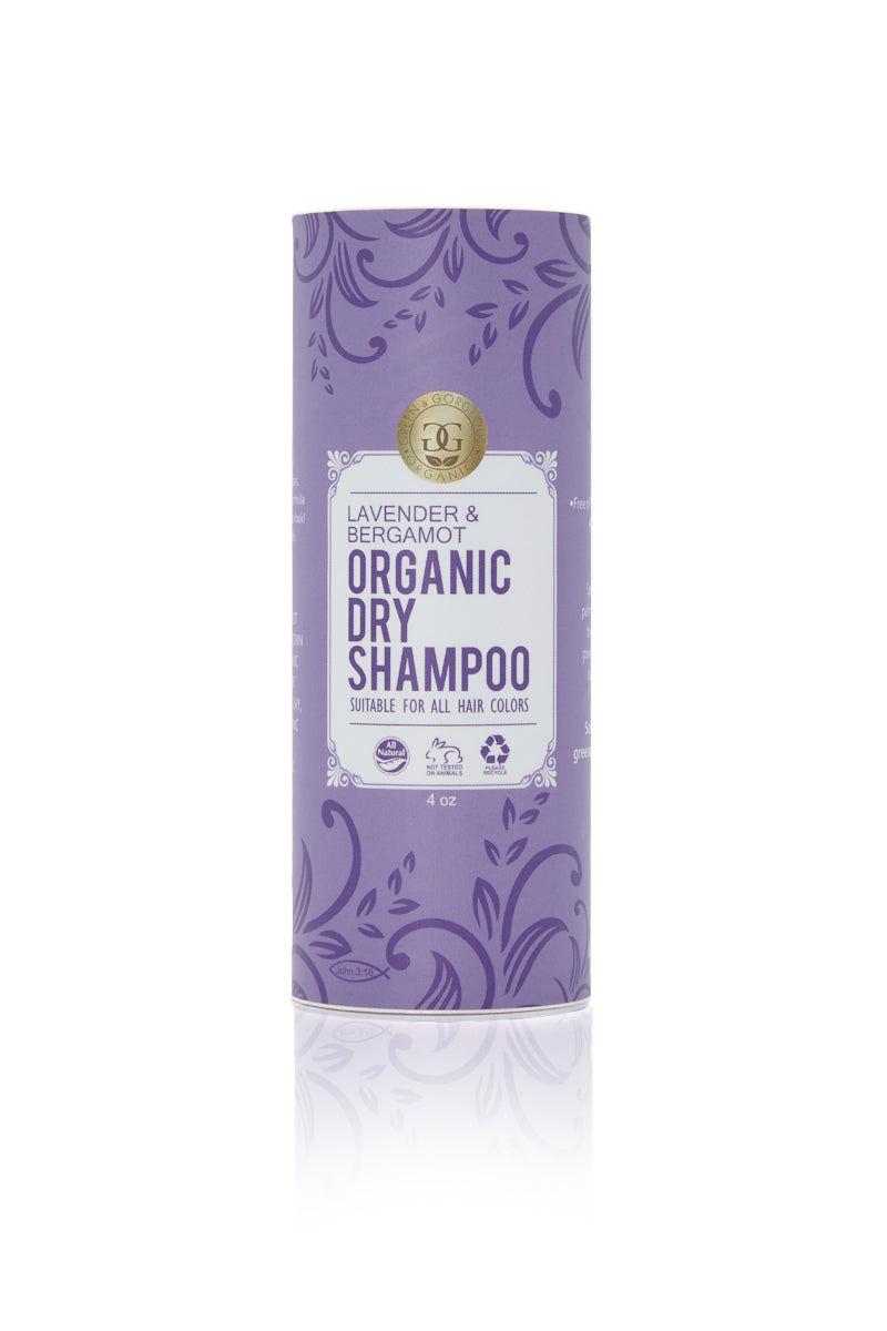 GREEN & GORGEOUS ORGANICS Organic Dry Shampoo - Lavender & Bergamot Beauty | Organic Dry Shampoo Powder Lavender and Bergamot for All Hair