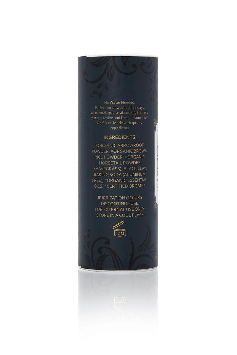 GREEN & GORGEOUS ORGANICS Organic Dry Shampoo for Dark Hair -  Grapefruit & Orange Beauty | Organic Dry Shampoo Powder Grapefruit & Sweet Orange for Dark Hair