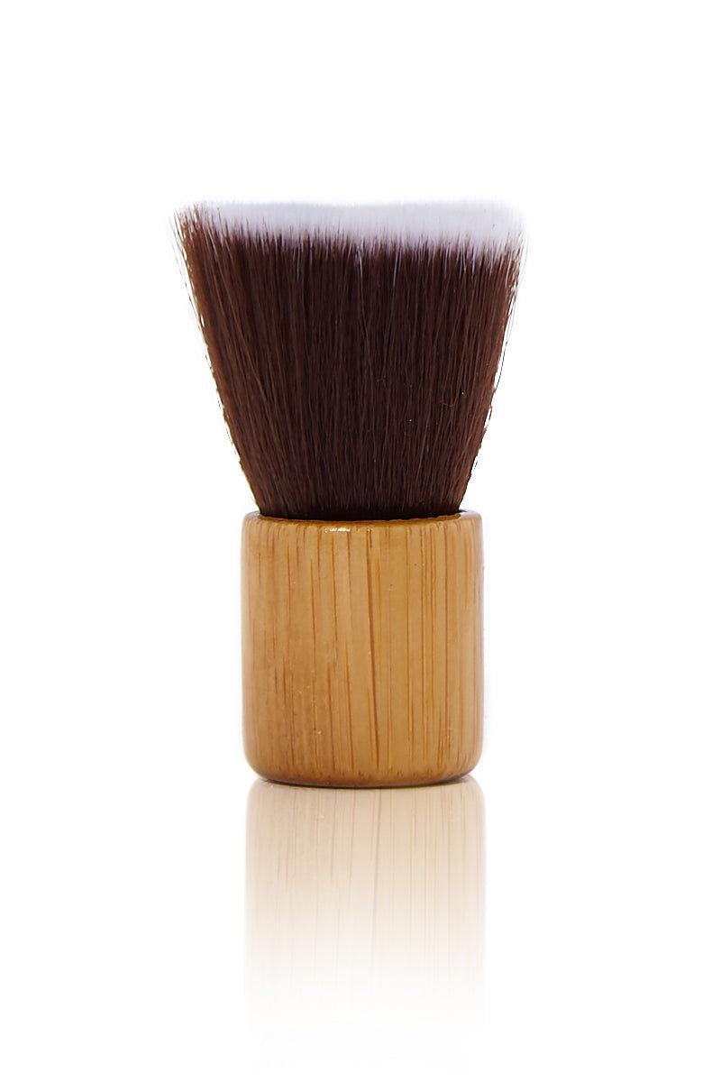 GREEN & GORGEOUS ORGANICS Bamboo Dry Shampoo Powder Brush Beauty | Travel Size Organic Dry Shampoo Powder Brush