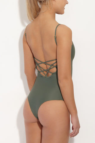 ISSA DE' MAR Sao Paulo Caged One Piece Swimsuit - Mauka One Piece | Mauka| Issa De Mar Sao Paulo One Piece