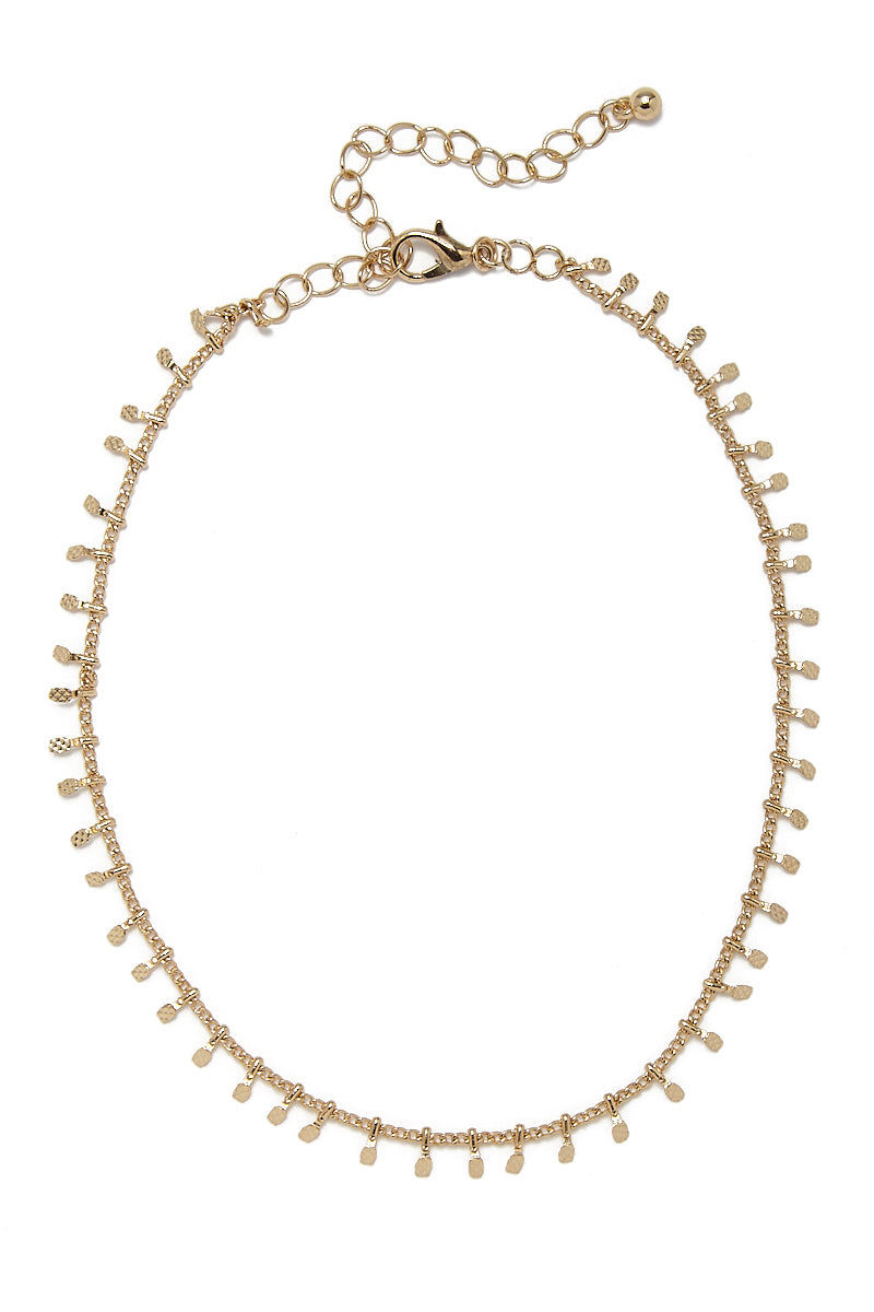 JEWEL CULT Lita Dainty Gold Choker Jewelry | Gold| Jewel Cult Lita Dainty Gold Choker