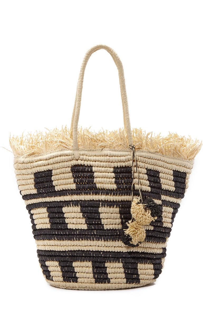 PIA ROSSINI Bermuda Bag Bag | Natural| Pia Rossini Bermuda Bag