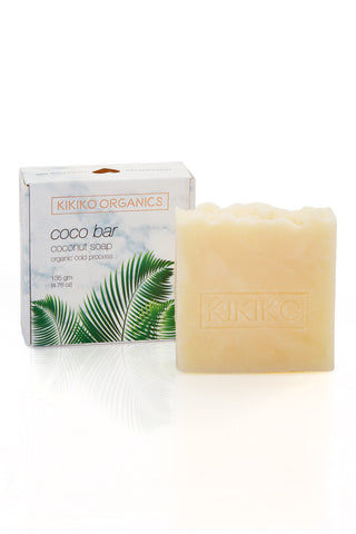 KIKIKO ORGANICS Coconut Delight Coco Bar Beauty | Coconut Delight Coco Bar