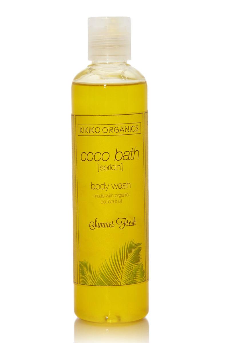 KIKIKO ORGANICS Summer Fresh Coco Bath Sericin Beauty | Summer Fresh Coco Bath Sericin