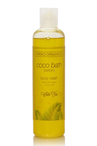 KIKIKO ORGANICS White Tea Coco Bath Sericin Beauty | White Tea Coco Bath Sericin