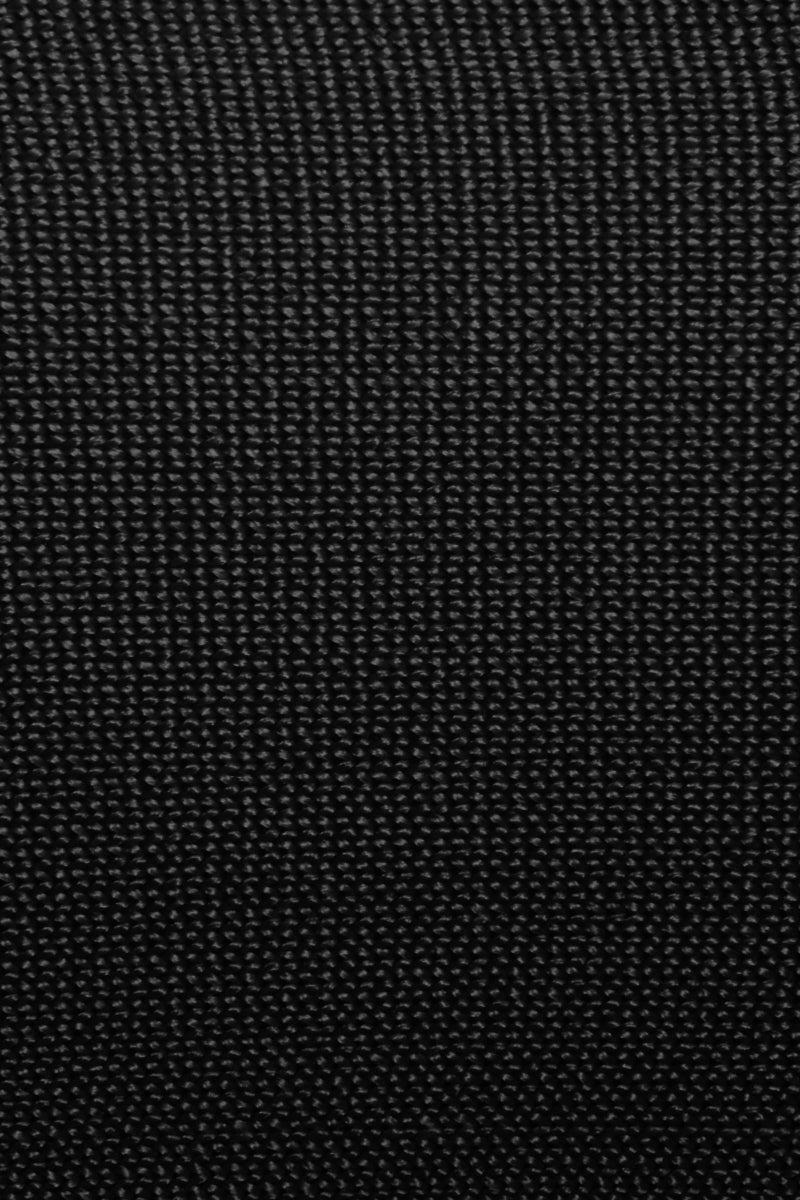 HAIGHT Amanda Knit Solid Square Neck Bikini Top - Black Bikini Top | Black| Haight Amanda Knit Solid Square Neck Bikini Top - Black Square neckline  Thick shoulder straps  Back button closure Close View