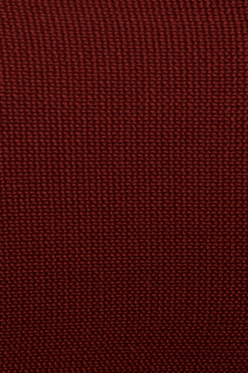 HAIGHT Amanda Knit Solid Square Neck Bikini Top - Garnet Red Bikini Top | Garnet Red| Haight Amanda Knit Solid Square Neck Bikini Top - Garnet Red Square neckline  Thick shoulder straps  Back button closure Front View