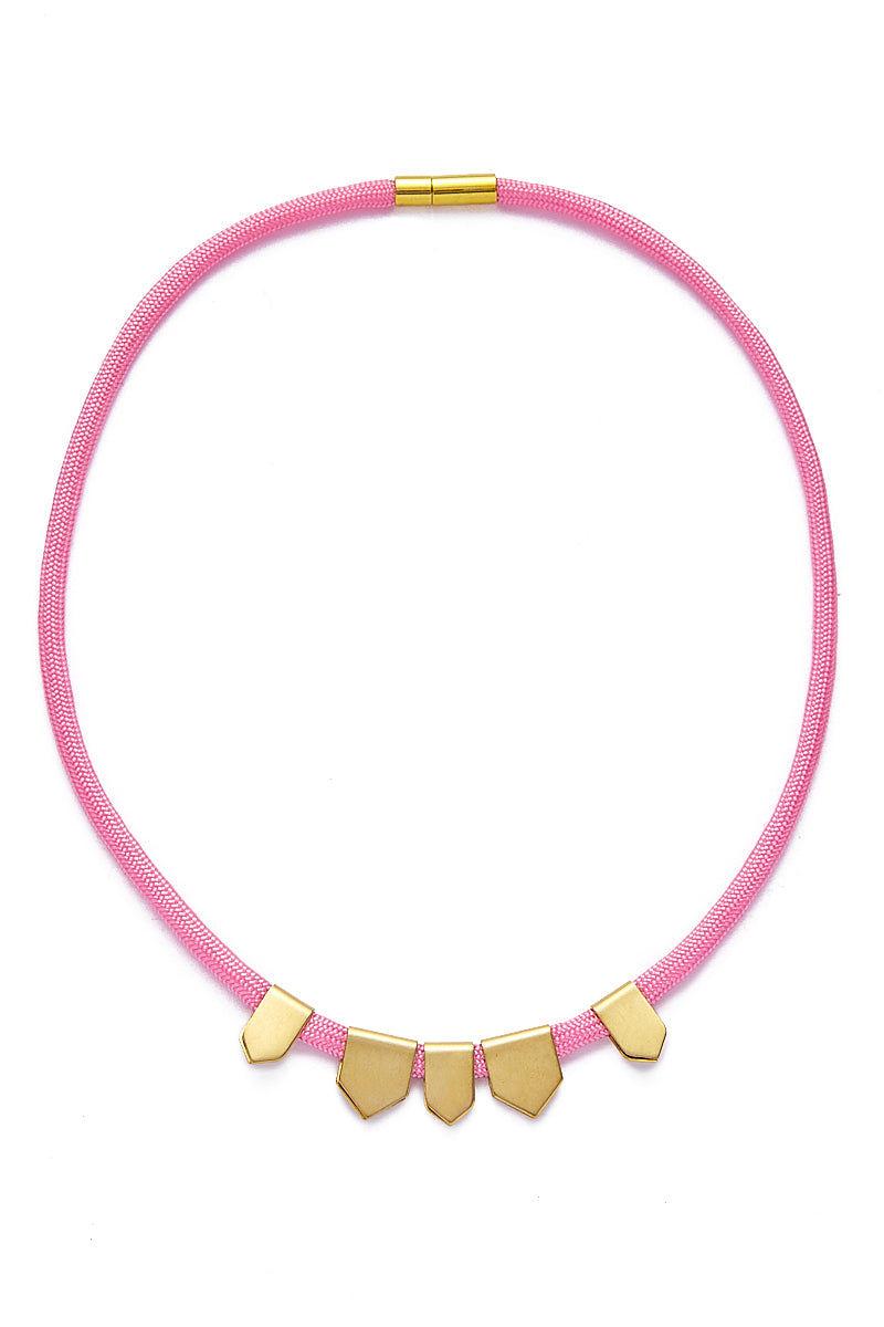SANDY HYUN Pink Choker Jewelry | Sandy Hyun Pink Choker