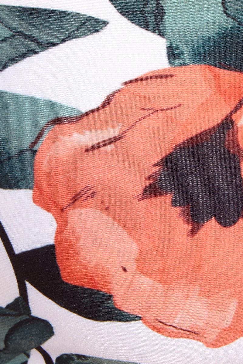 STONE FOX SWIM Chloe Floral Ruffle Sides Bikini Bottom - Gelato Bloom Print Bikini Bottom |  Gelato Bloom Print| Stone Fox Chloe Floral Ruffle Sides Bottom - Gelato Bloom Print Cheeky coverage bikini bottom in a contemporary floral print. Ruffle side straps.