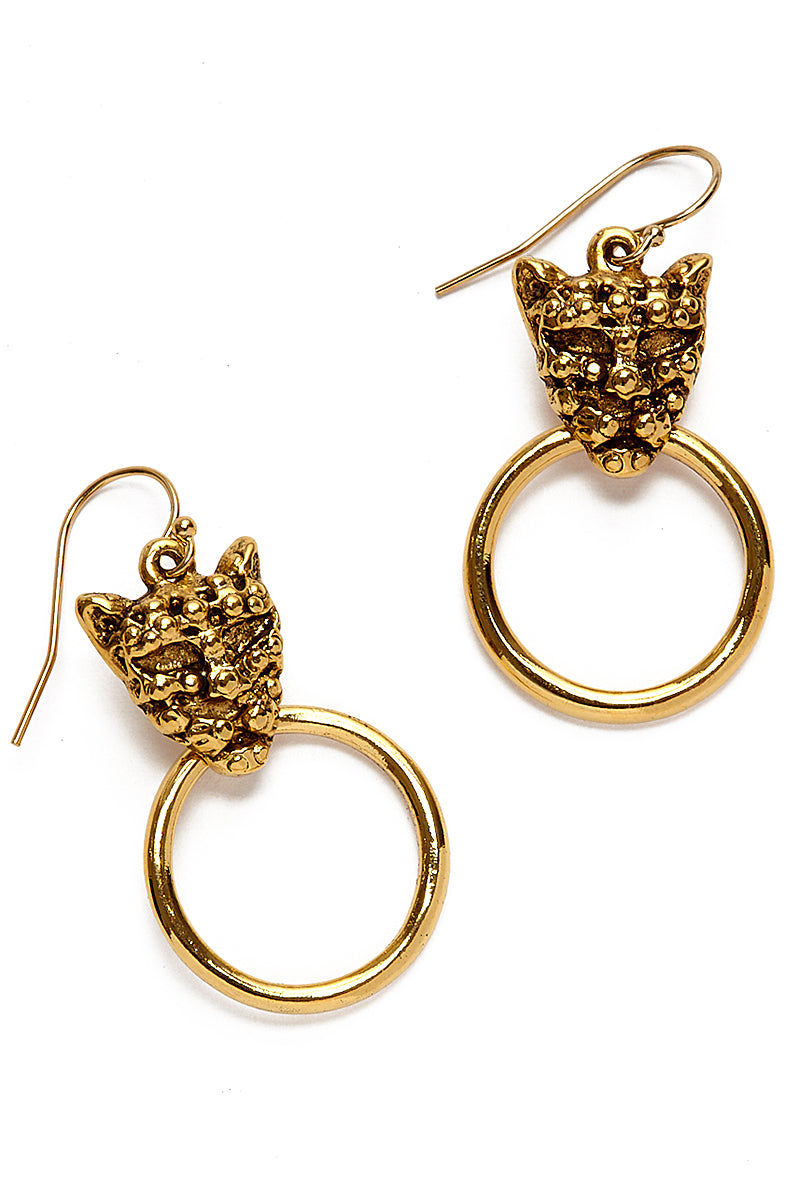 """VANESSA MOONEY The Panther Earrings Jewelry 