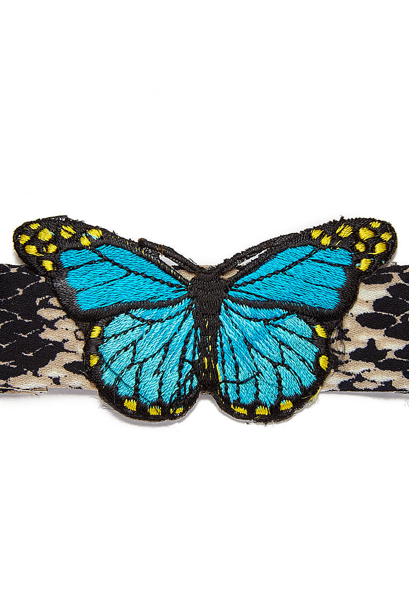WANDERLUST FASHION Python Patchwork Choker Jewelry | Python Patchwork Choker