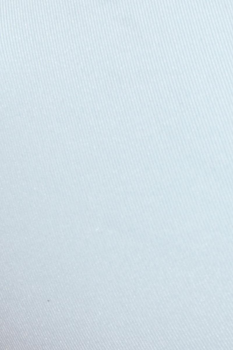 FRANKIES BIKINIS Malibu Bottom - Sea Salt Bikini Bottom | Sea Salt| Malibu Bottom Detail View Sea Salt Light Blue-Gray Cheeky Bikini Bottom Low Rise Cut Knotted Side Accents Seamless Stretch Fit Fabric Cheeky Coverage