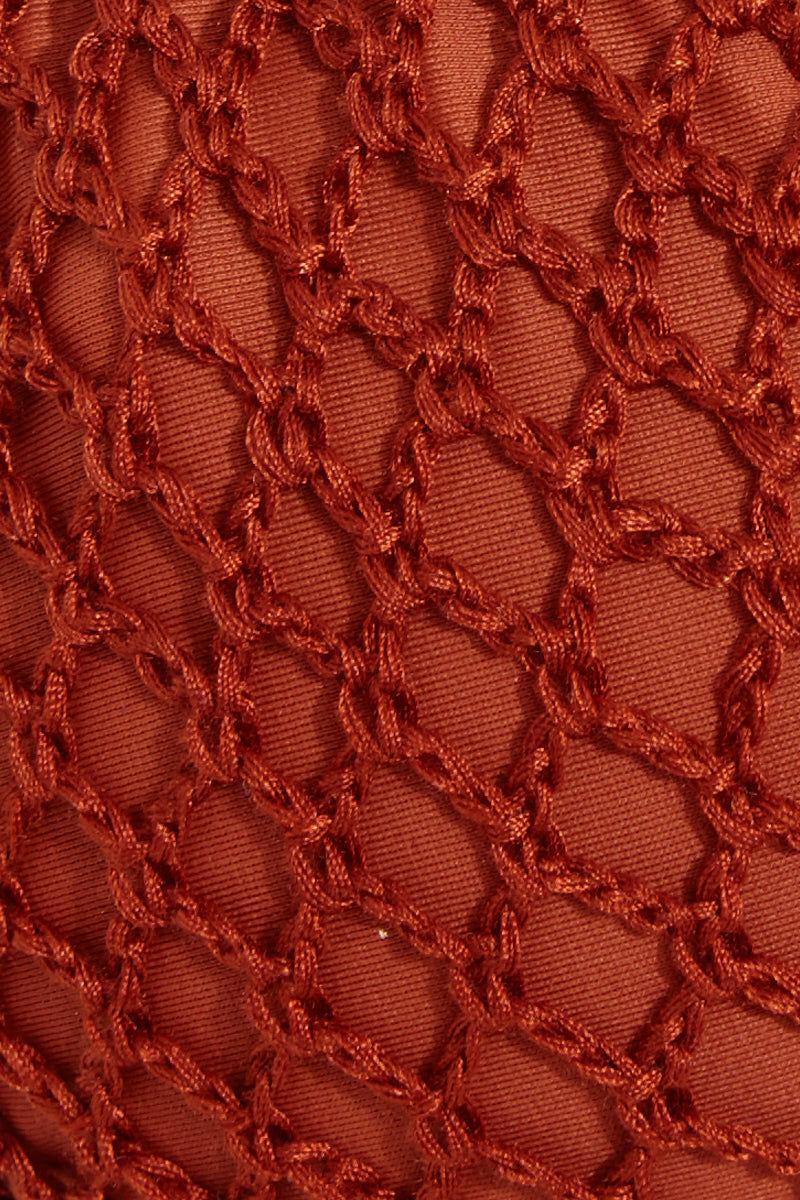 ACACIA Polihale Crochet Tie Side Bikini Bottom -  Mai Tai Bikini Bottom | Mai Tai| Acacia Polihale Tie Side Bottom -  Mai Tai Swatch  View