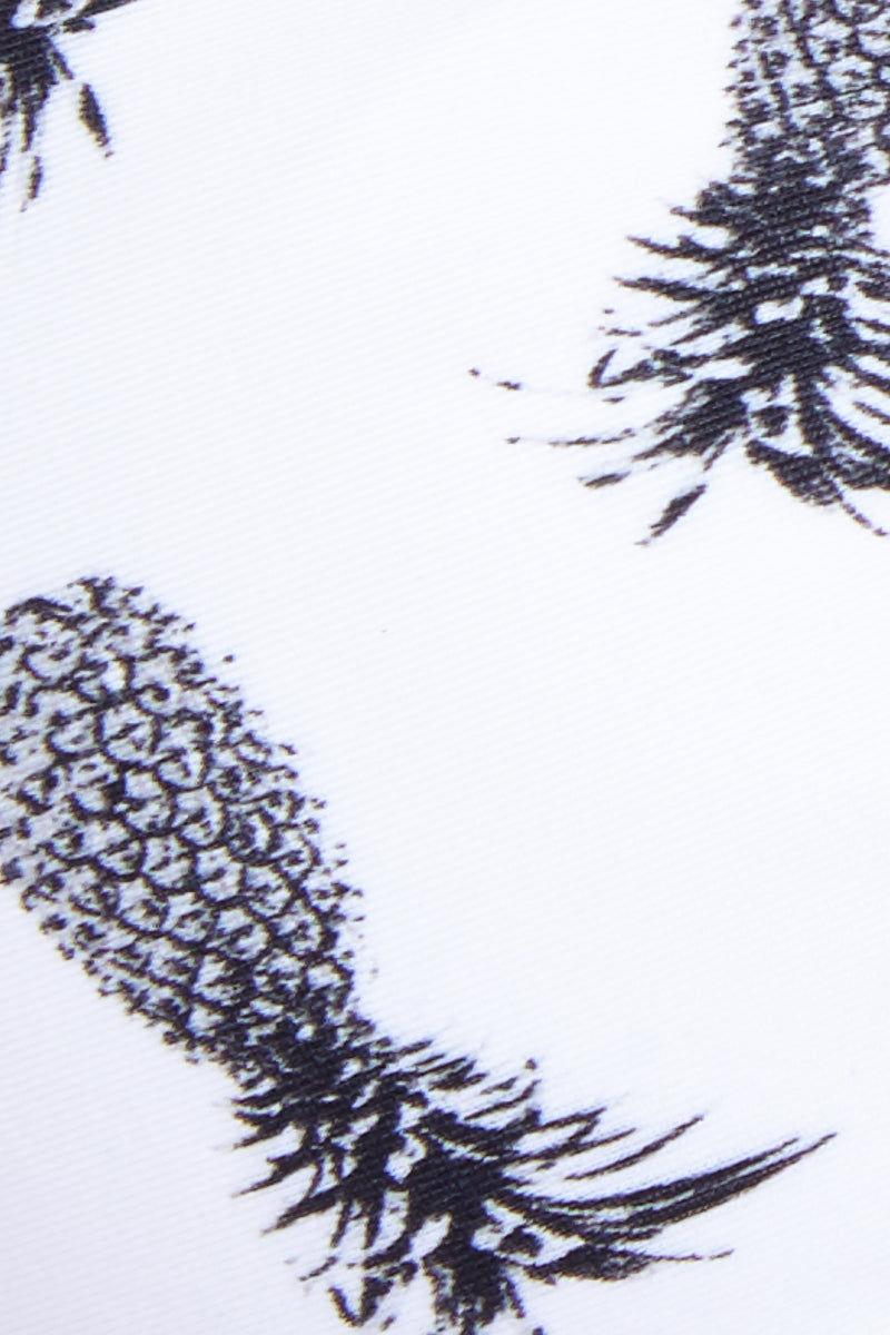 MGS Banned Minimal Bottom - Pineapples Bikini Bottom | Pineapples|Banned Bottom Detail