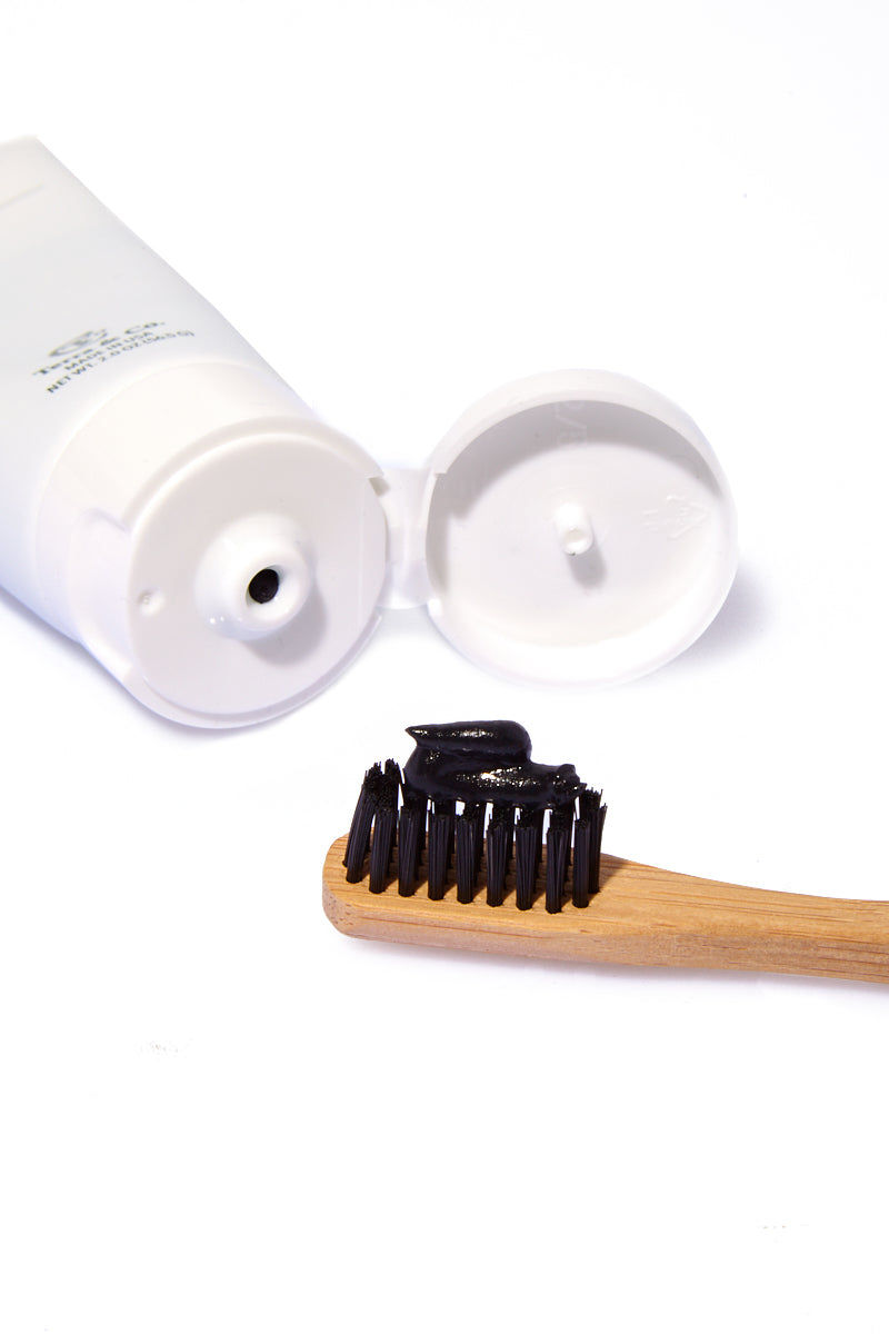 TERRA & CO 4oz Brilliant Black Toothpaste Beauty | 4oz Brilliant Black Toothpaste Detail View
