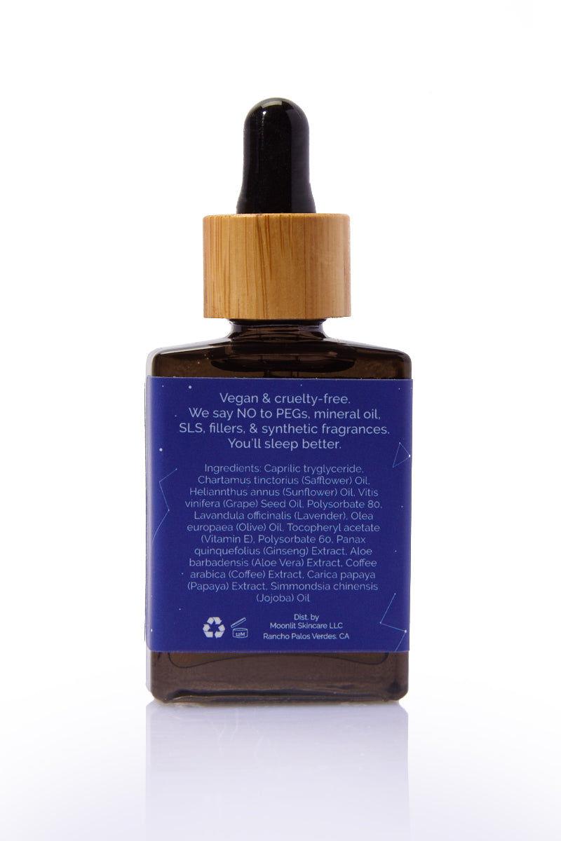 MOONLIT SKINCARE Midnight Shift Overnight Facial Oil Beauty | Moonlit Skincare Midnight Shift Overnight Facial Oil