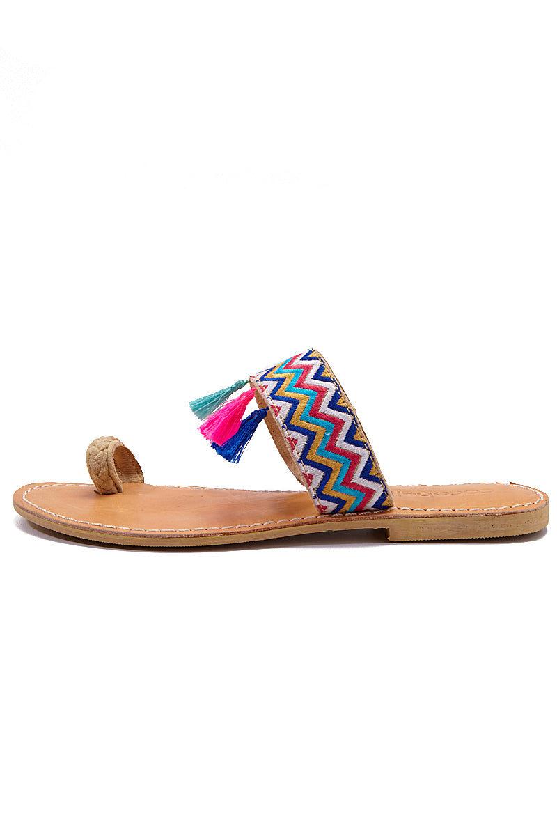 COCOBELLE Fez Sandals  - Wave Sandals | Wave| CocoBelle Fez Sandals Side View