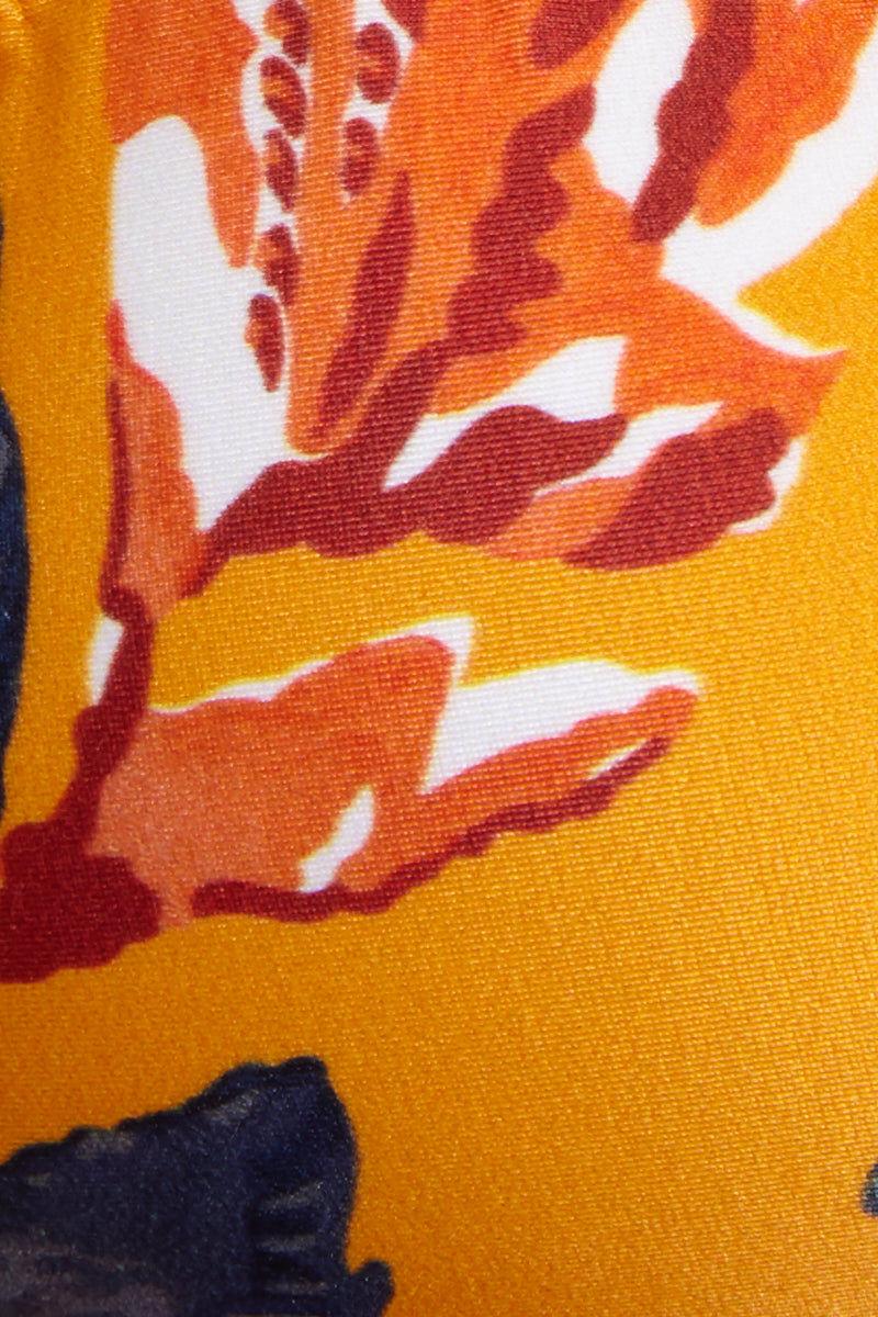 VIX SWIMWEAR Ripple Triangle Top - Tulum Bikini Top | Tulum| Vix Ripple Triangle Top - Tulum Swatch View