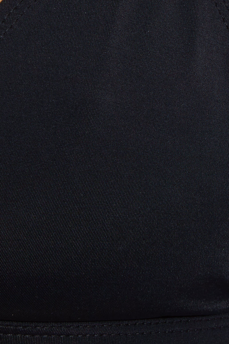 STELLAR DUST Artemis Bottom - Black Bikini Bottom | Black| Stellar Dust Artemis Bottom - Black Swatch View Low Rise Brazilian Cut  Ruched Back  Cheeky Coverage  Nylon/ Spandex