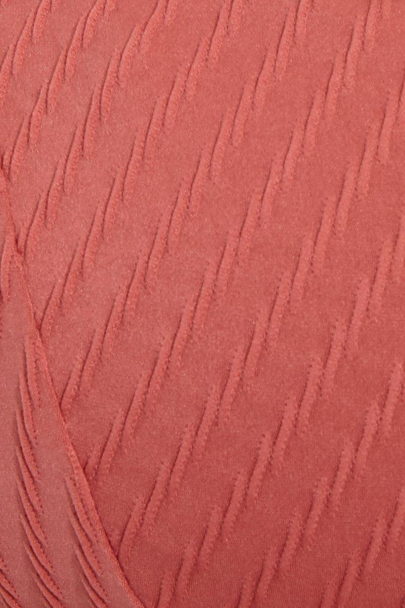 FELLA Julius V Neck Bikini Top - Spice Bikini Top |  Spice|Julius Top Detail View Features:  Italian Textured Lycra Back clasp Fits true to size