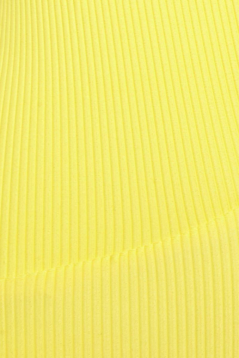 FRANKIES BIKINIS Sky Top - Yellow Bikini Top | Sky Top - Yellow