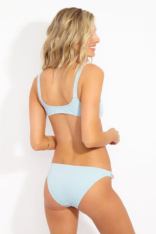SOLID & STRIPED The Tessa Strap Bikini Top - Pastel Blue Bikini Top | Pastel Blue|The Tessa Strap Bikini Top