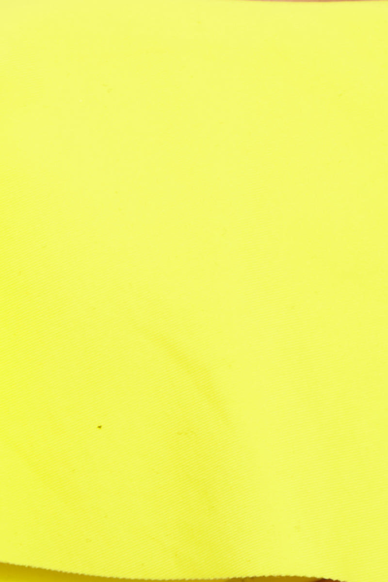 L SPACE Emma Bikini Bottom - Canary Yellow Bikini Bottom | Canary Yellow| L Space Emma Bikini Bottom - Canary Yellow Close Up View Smooth cut hipster bottom Low rise  Vertical ruching down the back Seamless construction Modest coverage 80% nylon, 20% spandex Made in the USA