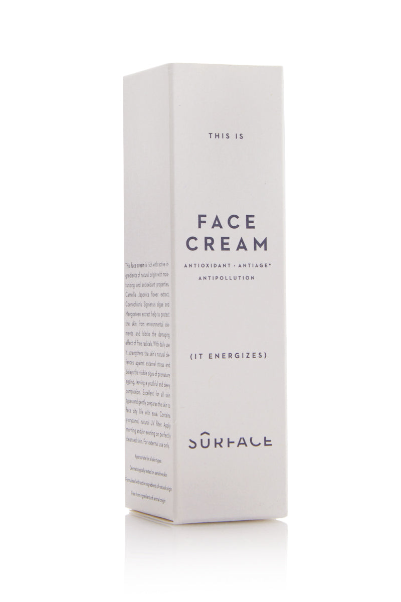 SURFACE Face Cream - 50ml Beauty | Surface Face Cream - 50ml Packaged View