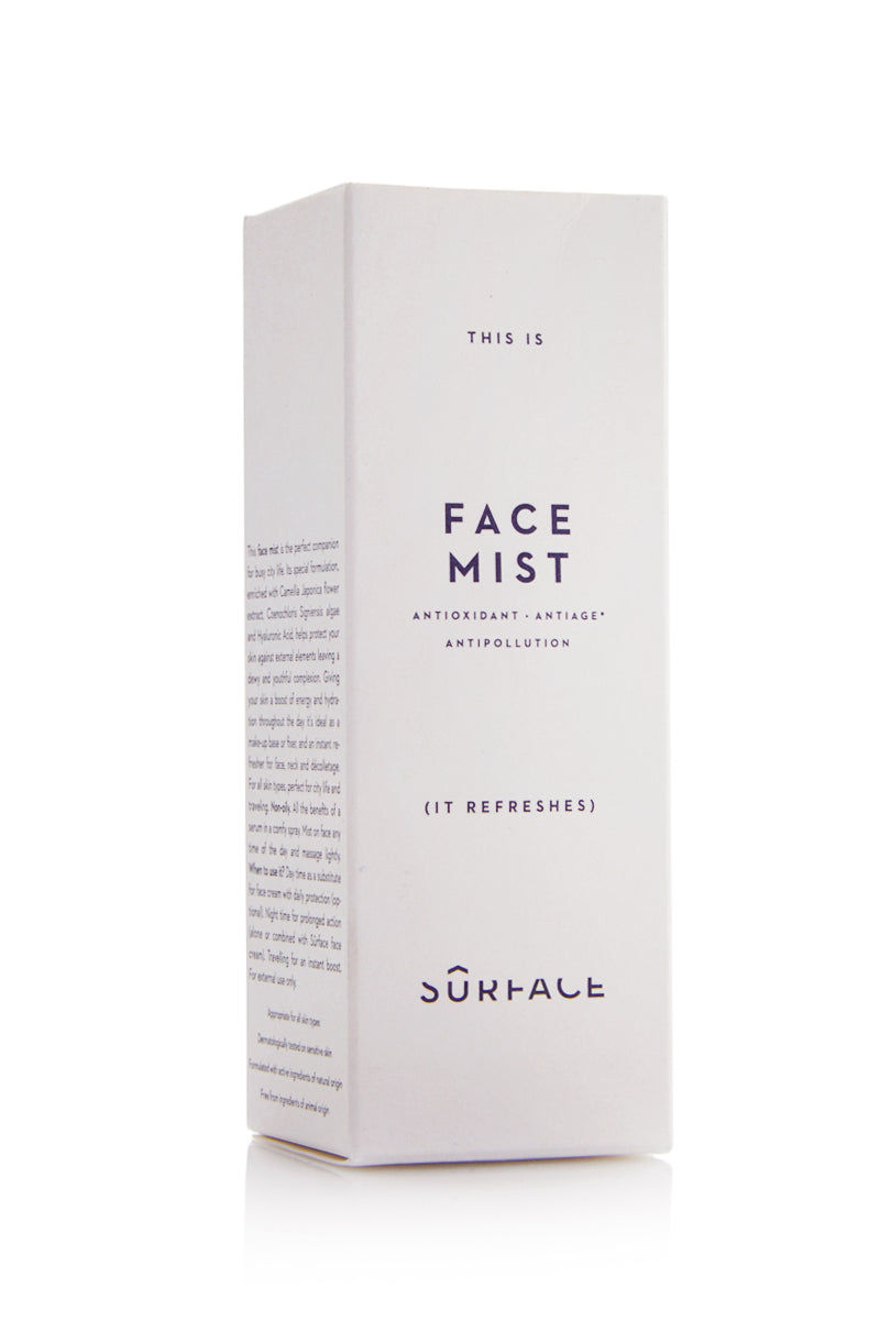 SURFACE Face Mist - 80ml Beauty | Surface Face Mist - 80ml Packaged View