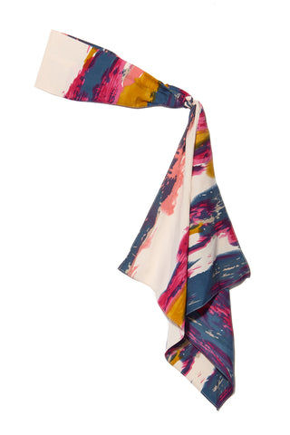NAMJOSH Watercolor Headscarf Hair Accessories | Multi Print| NAMJOSH Watercolor Headscarf