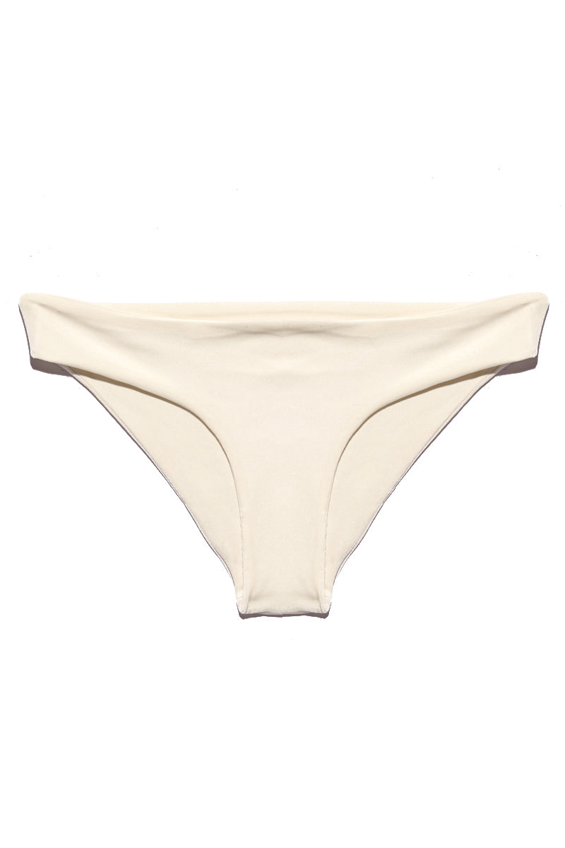 SARA CRISTINA Kala Bottom - White Bikini Bottom | White| Sara Cristina Kala Bottom Low-Rise Bikini Bottom Easy Pull-on Design Moderate Coverage
