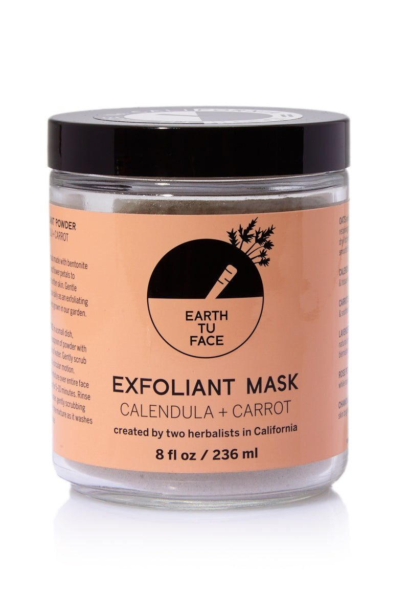 EARTH TU FACE Exfoliant Powder Mask - 8 oz Beauty | Exfoliant Powder Mask - 8 oz