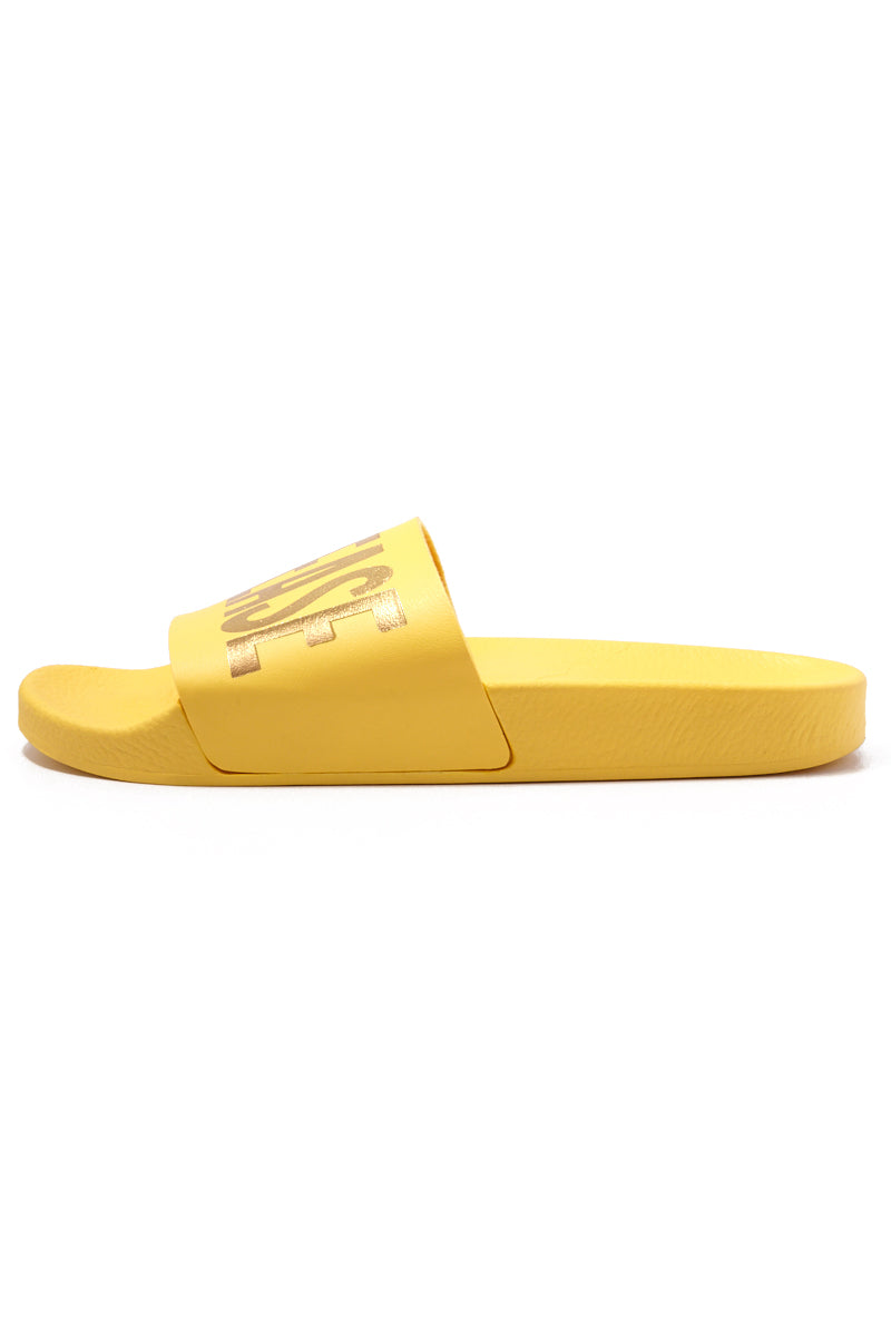 "THE WHITEBRAND Beach Please Minimal Sandals - Yellow Sandals | Yellow|Beach Please Minimal Sandal (Women's) - Yellow.Outsole: polyurethane rubber Height: 2"" platform"