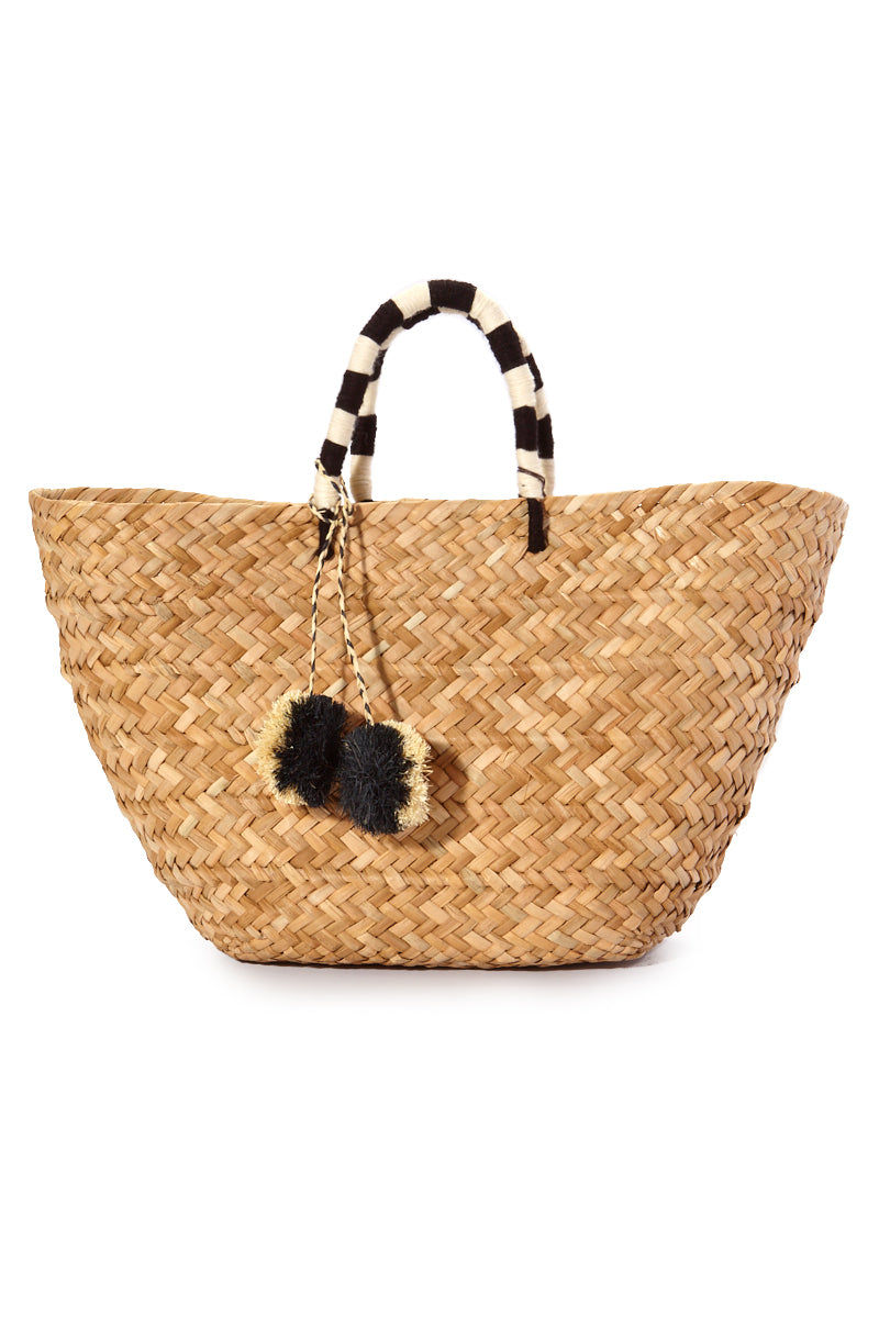 """KAYU St. Tropez Tote - Black/White Bag 