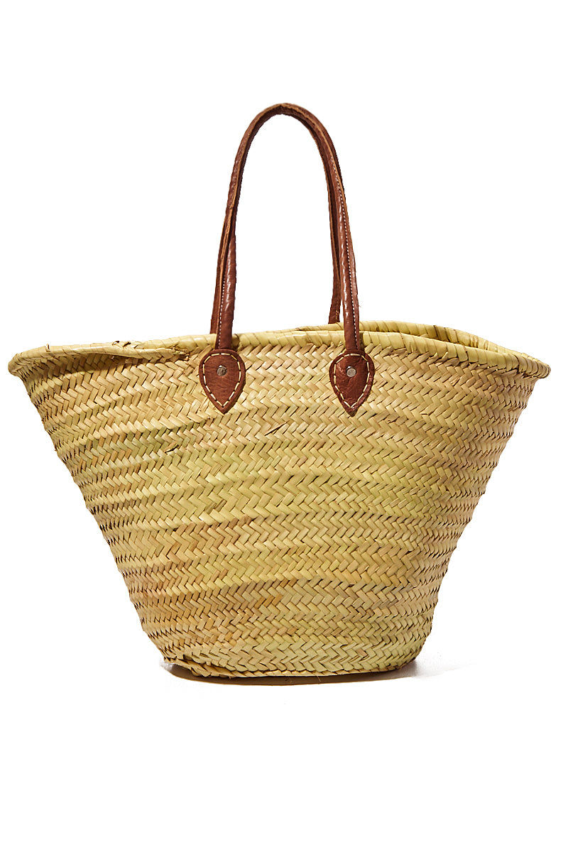"""POOLSIDE Long Handle Large Straw Tote - It's All Happening Bag 