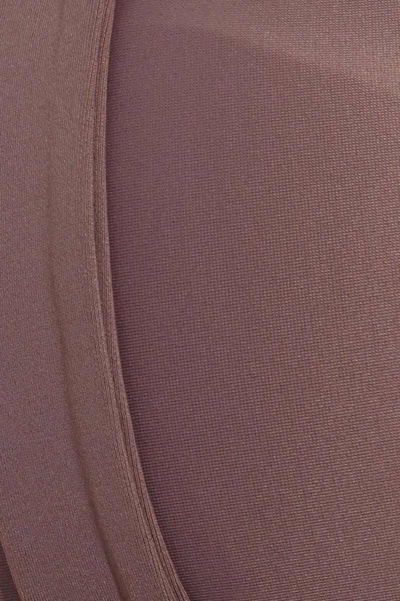ISSA DE' MAR Waimea Front Strap Bralette Bikini Top - Mauve Bikini Top   Waimea Front Strap Bralette Bikini Top - Mauve