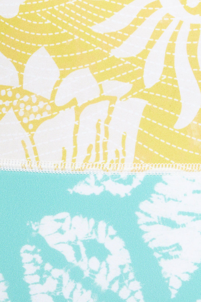 SEEA Lido One Piece Swimsuit - Fiori One Piece   Fiori  Seea Lido One Piece Detail Fabric View