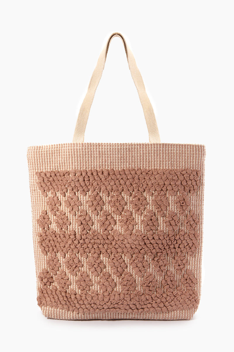 """INK + ALLOY Handloom Simple Diamond Tote Bag - Blush Jewelry 