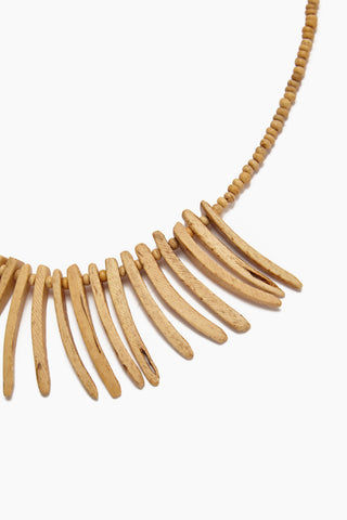 INK + ALLOY Coconut Sticks Necklace - Natural Jewelry | Coconut Sticks Necklace - Natural